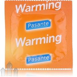 Pasante Warming kondoom