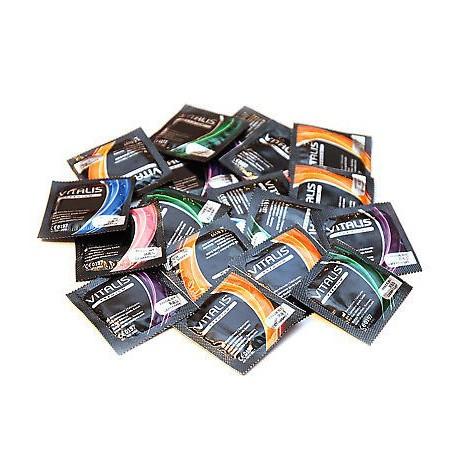 Vitalis kondoomide komplekt 50 tk.