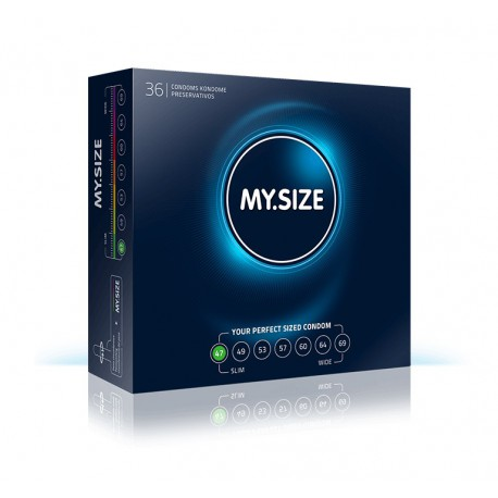 MY.SIZE 47 pakend 36 tk