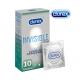 Durex Invisible Close Fit 10 tk