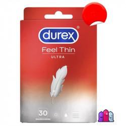 Durex Feel Ultra Thin kondoomipakk 30 tk